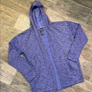 C9 Champion girls sweatshirt cardigan purple 10-12